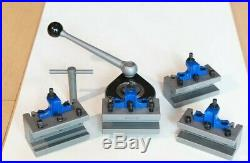 E5 40 Position Quick Change Tool Post Kit For 200-400mm Swing Lathe 8 to 16