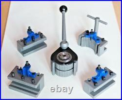 E5 Quick Change Tool Post 4 200-400MM Lathe 8-16 Multifix E ED25100 EB30100