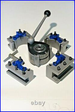 E5 Quick Change Tool Post 4 200-400MM Lathe 8-16 Multifix E & ED25100 Holder