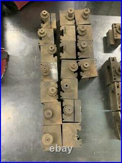 ENCO 45 Series Quick Change Metal Lathe Tool Post Holders 44 Total Holders