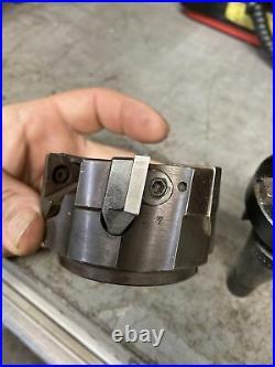 ERICKSON NMTB 30 QC 1 Shell Face Mill Tool Holder Bridgeport Quick Change