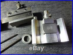 Emco Maximat V10-p Lathe Dickson Style Quick Change Tool Post & Tool Holders