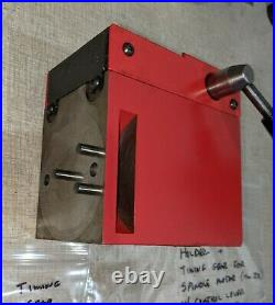 Emco PCMill 55 CNC Mill BT30 Spindle Quick Change Tool Holder F19U