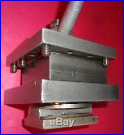 Enco Lathe 4-Way Tool Post, Holder, Machinist, Turret, Metal, Quick Change