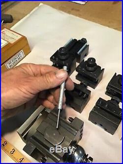Enco Machinist Lathe Quick Change Tool Post, Needs Repaired