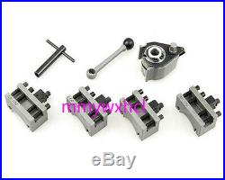 European Style Aa Quick Change Tool Holder Set For CQ0618 WM180V WM210V Lathe A