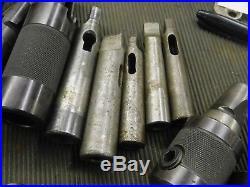 Falcon Kwikloc Quick Change R8 Tool Holder Set - Large Very Nice Set 87 Piece