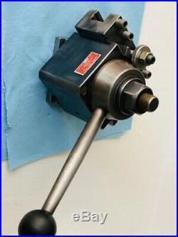 Genuine ALORIS CA Quick Change Tool Post & YUASA holder V groove 740-402 Japan