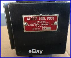 Genuine Aloris BX Quick Change Lathe Tool Post