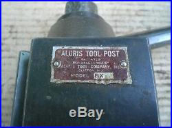 Genuine Aloris BX Quick Change Lathe Tool Post Holder with 2 holders BX3 BX6