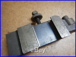 Genuine Aloris Cxa22 Cxa-22 Quick Change Tool Post Holder Machinist Metal Lathe