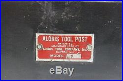 Genuine Aloris DA quick change tool post and six holders