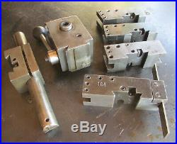 Genuine Kdk Quick Change Lathe Tool Post With (5) Tool Holders Free Shipping
