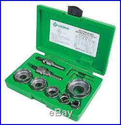 Greenlee 648 Quick Change Carbide Cutter Set