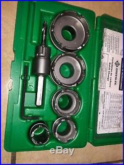 Greenlee 660 7-Piece Quick Change Carbide Hole Cutter Kit