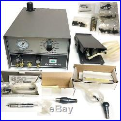 Grs Gravermax with 3 handpieces and QUICK CHANGE ADAPTERS PLUS GRS TOOLS