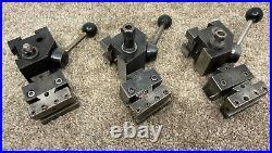 Hardinge L18 Quick Change Tool Post + 2 Holders