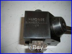Hardinge lathe quick change tool holder L-18, L-19, L-21, L-22, and L-23 Mill r8
