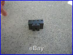 Hardinge quick change tool holder L -21 south bend logan atlas lathe fits L-18