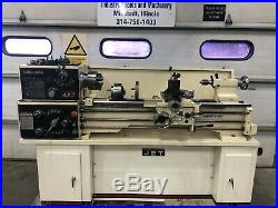 Jet GHB-1340A metal lathe 13x40 gap bed with tooling 1ph in/metric quick change