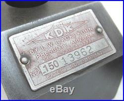 KDK-150 SERIES QUICK CHANGE LATHE TOOL POST 15 to 18 SWING