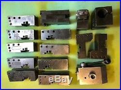 KDK 200 SERIES QUICK CHANGE LATHE TOOL POST With 14 HOLDERS (Made in USA)