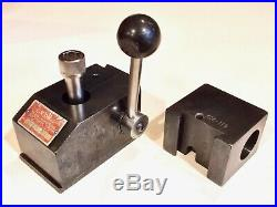 KDK Quick-Change Tool Post and KDK 5C Collet Holder