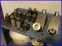 KENNAMETAL KM40 QUICK CHANGE TOOLS With 2 MASTER HOLDERS
