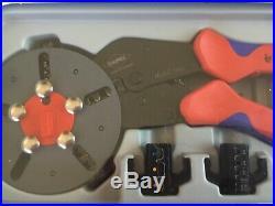 Knipex Multicrimp Pliers Set 5 Quick Change Cartridges KPX973302 NEW