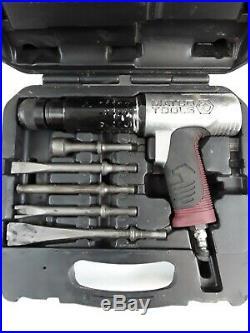 LIGHTLY USED MATCO Tools QUICK-CHANGE Long Barrel Air Hammer KIT MT2816k