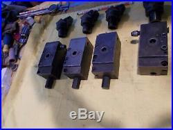LOT of SANDVIK CAPTO C4 QUICK CHANGE CNC MACHINE TOOL HOLDER CLAMPING UNITS