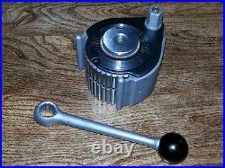 Lathe = 40 Position Professional Multifix Quick Change Tool Post & locking lever