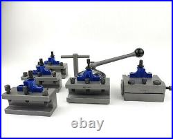 Lathe Quick Change Tool Post A1 Multifix A With AD2090 AB2090 AJ3080 Holders