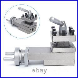 Lathe tool post assembly Holder Swing Lathe Tool Accessories Metal Quick Change