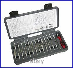 Lisle 71750 27 Piece Led Quick Change Terminal Tool Set