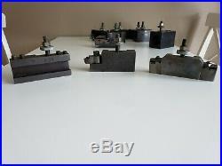Lot of Aloris CA Tool Holders