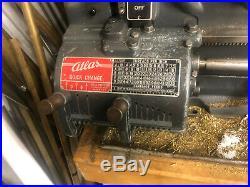 MACHINIST TOOLS LATHE Atlas QC 42 Quick Change Lathe INVSt
