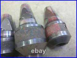 Machinist Lathe Mill FALCON Quick Change End Mill Tool Holder Set x4 30 Taper