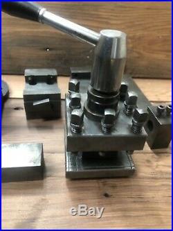 Machinist Lathe Tool Holder Lot Quick Change Sourh Bend Atlas