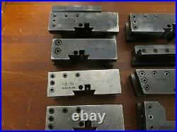 Machinist Tools Quick Change Tool Holder Kdk 200 Series Lot (8)