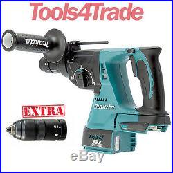 Makita DHR243Z 18V Brushless 3 Mode Rotary Hammer Drill +Quick Change Chuck Body
