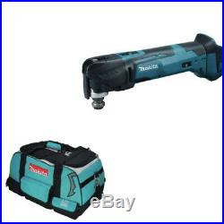 Makita DTM51Z DTM51 18V Quick Change Multi Tool BODY ONLY plus LXT400 Tool Bag