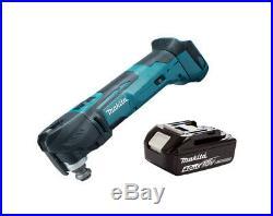 Makita DTM51Z DTM51 18V Quick Change Multi Tool Body + 1 BL1840 Battery