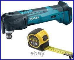 Makita DTM51Z DTM51 18V Quick Change Multi Tool Body + Stanley 5m Tape