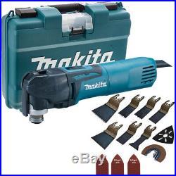 Makita TM3010CK 110V Multi-Tool Quick Change Blade With 39pcs Accessories Set