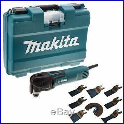 Makita TM3010CK 240V Oscillating Multi-Tool Quick Change Blade +Excel Blades 8pc