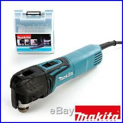 Makita TM3010CK Oscillating Multi-Tool 320W with Quick Change Blade 240V