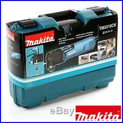 Makita TM3010CK Oscillating Multi-Tool Quick Change Blade 110V + 20pc Acc Set