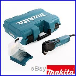 Makita TM3010CK Oscillating Multi-Tool Quick Change Blade 240V + 17pc Acc Set