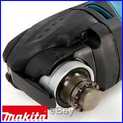 Makita TM3010CK Oscillating Multi-Tool Quick Change Blade 240V + 4pcs Blade Set